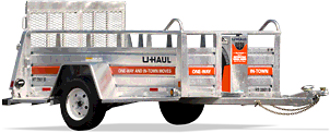Uhaul ramp trailer